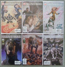 SILENT WAR #1-6 SET..DAVID HINE..FRAZER IRVING..MARVEL 1ST PRINT..VFN+..INHUMANS