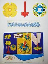 TT390 TROTTOLA + BPZ KINDER MERENDERO JOY ITALIA 2008 THE SIMPSONS