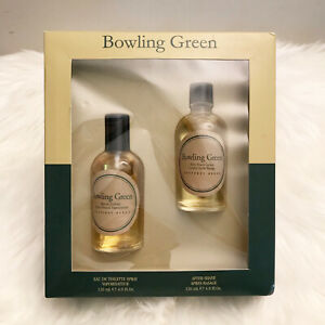 Bowling Green Set Eau De Toilette Spray & After Shave vintage formula New Sealed