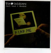 (FF209) Tin Soldiers, Just What I Needed - DJ CD