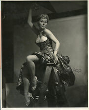 ORIGINAL Vintage Gil Elvgren Pin Up Reference Photograph - Pinup Girl 1955