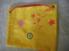 American Girl Doll  YELLOW TOTE BAG Camping NEW  Truly Me CAMP TREATS