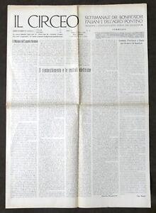 Agraria - Bonifica Agro Pontino - Il Circeo - Anno III - N° 26 - Giugno 1923
