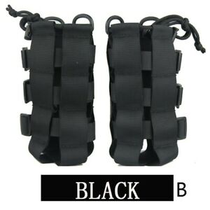 Outdoor Tactical Molle Water Bottle Bag Military-Hiking Belt Holder Kettle Pouch