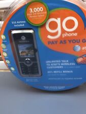 Motorola C168i Cell Phone Go Phone AT&T Pay as you go - Silver Sealed