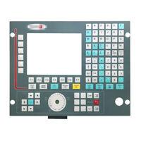 For FAGOR CNC 8035-M-COL-2 CNC 8035-M-COL-R-2 Membrane Keypad Protective Film