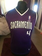 NBA Sacramento Kings Jersey # 4 Webber Large YouthOr Small Womens Basketball