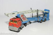 CORGI TOYS 1138 FORD TILT CAB WITH TRAILER CAR CARRIER AUTO TRANSPORTER EXC.