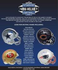 SAN FRANSISCO 49ers 2018 Leaf Football Mini Helmet 2 Box Break #13