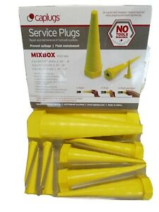 Hydraulic rubber Service Plugs - Hose Bungs. 10 Set - Mixed Box - Free Delivery