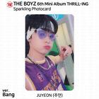 The Boyz 6th Mini Album Thrill-ing Official Photocard Postcard Juyeon KPOP K-POP