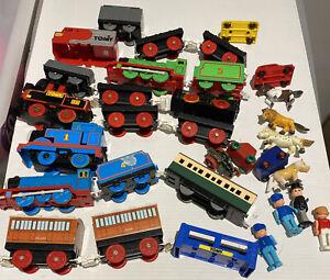 vintage thomas the tank engine Tomy Trains And Tracks  Plus Plenty Of Other Item