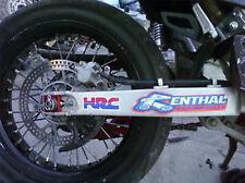 2 Renthal Shroud/Swingarm/Truck Decals Sticker Graphics