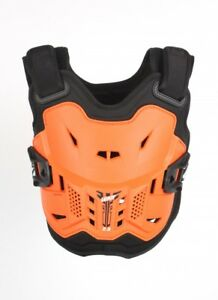 NEW LEATT 2.5 KIDS CHEST PROTECTOR ORANGE BLACK CHILD ROOST MOTOCROSS ARMOUR BMX