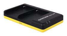 PATONA Dual Cargador rápido para Sony NP-FM500H inclusive cable Mini-USB