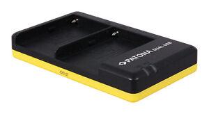 PATONA Dual Schnell-Ladegerät für Sony NP-F970 inklusive Mini-USB-Kabel