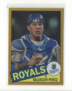 2013 Topps Archives Gold #131 Salvador Perez Royals /199