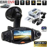 Dual Lens GPS Car DVR Camera HD 1080P Dash Video Recorder G-sensor Night Vision