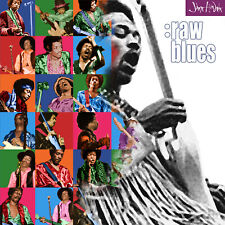 JIMI HENDRIX - RAW BLUES OUTTAKES STUDIO 2CD - Limited & Numbered