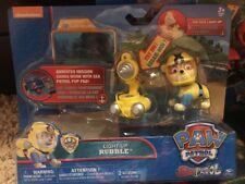 Paw Patrol Sea Patrol – Light Up Rubble with Pup Pack and Mission Card