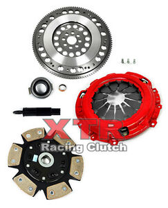 XTR STAGE 3 RACE CLUTCH KIT & CHROMOLY FLYWHEEL ACURA RSX HONDA CIVIC Si K20 K24