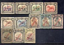Nyassa sc#51-62 (1911) D. Manuel full set OG MH*