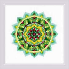 Counted Cross Stitch Kit RIOLIS 1964 - Self-knowledge Mandala