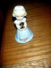 Vintage Enesco Growing Up Figurines 2 Years