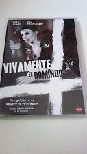 """DVD """"VIVAMENTE EL DOMINGO"""" COMO NUEVA FRANÇOIS TRUFFAUT AVALON +LIBRETO MK2"""