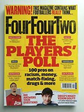 FourFourTwo Football Magazine: Feb 13 Number 224 - Players Poll On Cover