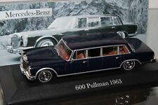 De Agostini-1:43-Präsidentenlimousine  Mercedes Benz 600 Pullmann dunkelblau