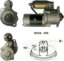 Starter Motor For Mitsubishi Industrial Sole Diesel Terex S4S MINI TC48 1990-On