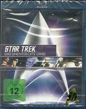 Star Trek 06 Das unentdeckte Land Blue-Ray NEU OVP Sealed Remastered Deutsche A.
