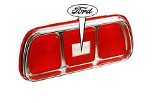 1971 1973  Ford Mustang of Tail Lights lens  with Ford oval orginal Ford Tooling