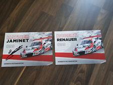 ADAC GT Masters Autogrammkarte Porsche GT3 Renauer & Jaminet