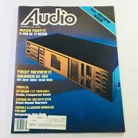 VTG Audio Magazine November 1984 - 5 VHS Hi-Fi Decks Mass Test & Nakamichi BX300