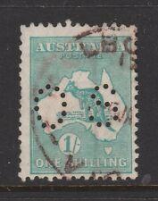 "1929 1/- Roo ""small Os""Sg O116 Fu Retail $25"