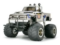 Tamiya 58365 Midnight Pumpkin Chrome RC Kit - DEAL BUNDLE with Twin Stick Radio