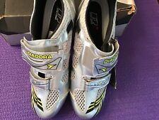 🔥DIADORA SONIC Tri /Race shoe size 46EU 12US New in Box: Silver /Black /Yellow