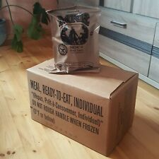 US Army MRE Ration Meal Ready to Eat Champing Hiking Survival Emergency Combat