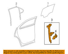GM OEM Rear Door-Window Regulator 22803635