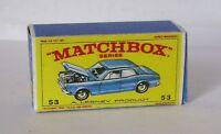Repro Box Matchbox 1:75 Nr.53 Ford Zodiac MK iV