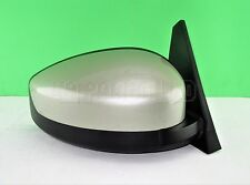 1Q6-Renault Espace MK4 03-09 Right Side Electric Heated Door Mirror Green-Silver
