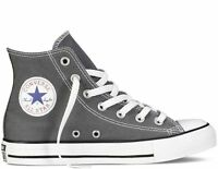 Converse Hi Top All Star Chuck Taylor Charcoal White Mens Womens Shoes Size 4-13