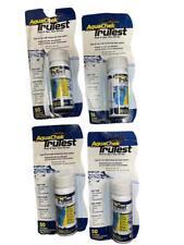 New listing 4 Bottles 200 Test Strips AquaChek TruTest Pool & Spa Free Chlorine/Bromine/pH/