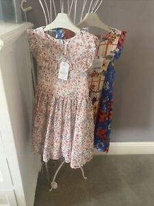 2 Girls Next Summer Dresses, Age 7. Bnwt. Worth £72