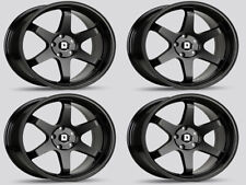 Drag Wheels DR-53 Concave TE37 style rims 5x114.3 19x9.5 offset 35 set of four