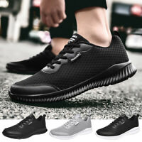 Men's Casual Running Shoes Fashion Sports Breathable Athletic Tennis Sneakers US