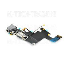 "Genuine iPhone 6 (4.7"") Charging Dock Port & Mic & Headphone Jack Flex -WHITE"