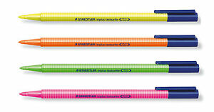 STAEDTLER Triplus Textsurfer Highlighter Pens - various colours and quantities
